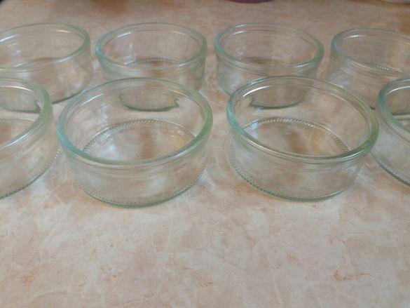 Стъклени купички - комплект от 8 бр.