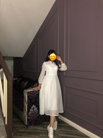 Платье,белое,чистое,новое,на свадьбу, на узату той