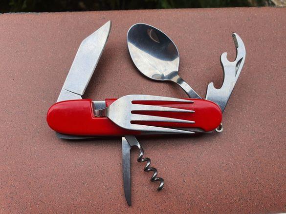 Джобно Туристическо многофункционално ножче 8 в 1