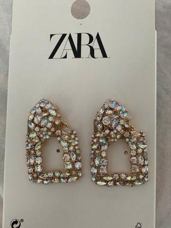 Cercei Zara cu pietricele