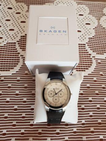 Продавам ръчни часовници мъжки скаген и клод бернард нови