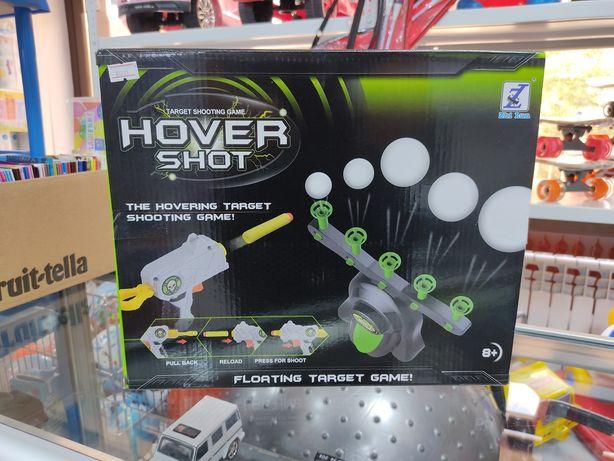 Hover shot target shooting game