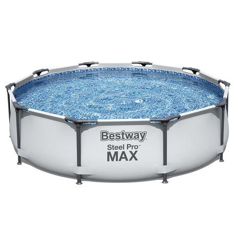 Бассейн каркасный Steel Pro MAX 305 х 76 см, Bestwey, 56406, Винил, 46
