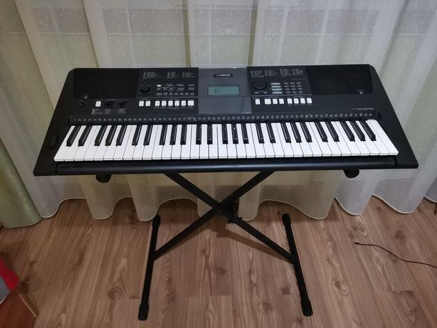 Orga Yamaha PSR-E423 (+suport și scăunel)