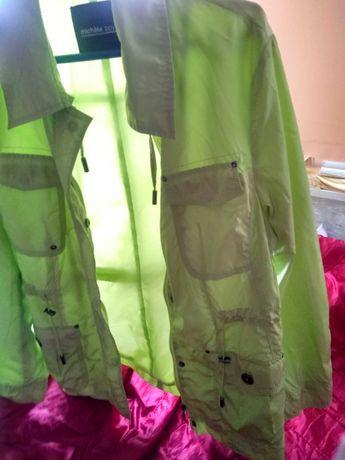 потник яке цвят киви /неон къси панталонки с две лица на Адидас
