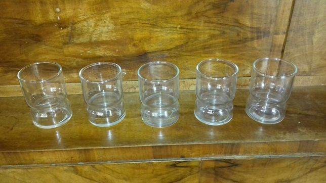 set 5 pahare sticla