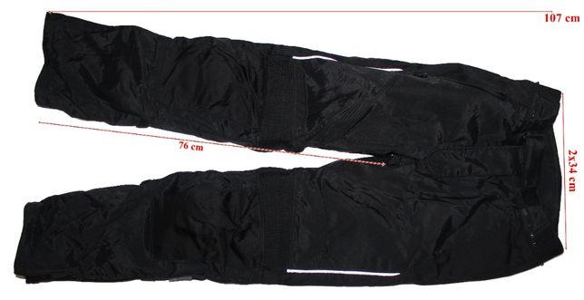 Pantaloni moto Cycle Spirit, full protectii, dama, marimea 36(S)