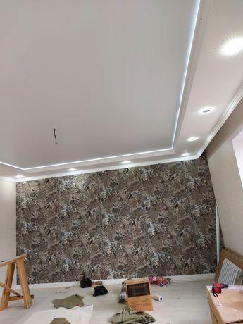 Натяжные потолки от 1300кв/м