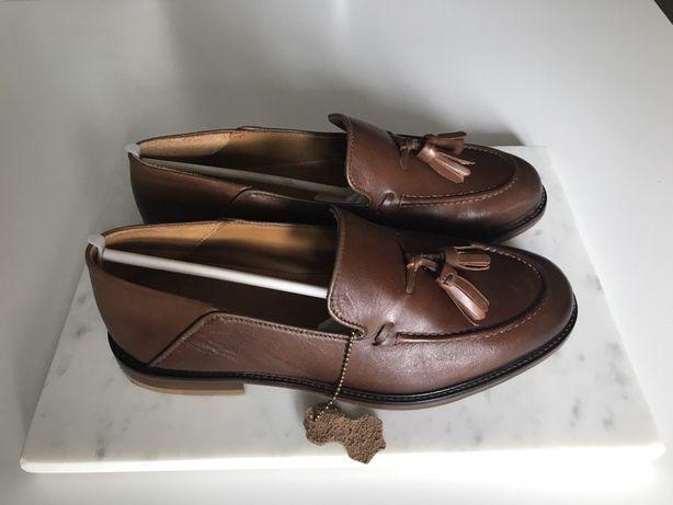 Pantofi-mocasini piele marime 40