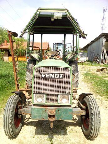 Tractor Fendt, MF 135 CU Incarcator frontal, Tocatoare INO
