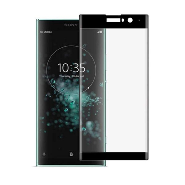 Закален удароустойчив 5D стъклен протектор за Sony Xperia XA2 Plus гр. Шумен - image 1
