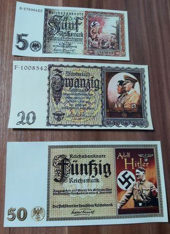 Lot 3 bancnote phantezie Germania