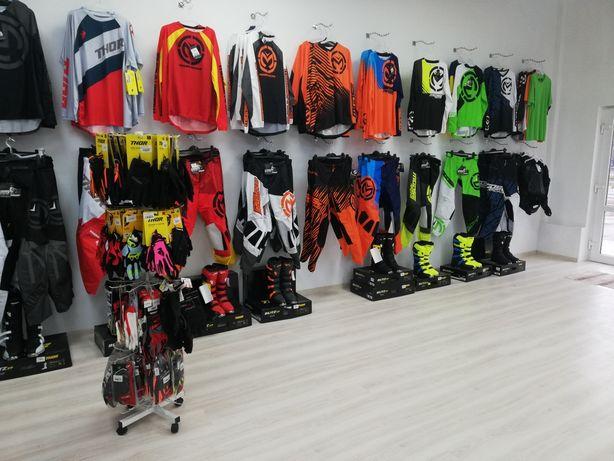 Echipament Enduro/cross, Cizme moto , casca Bluza-Pantaloni, mănuși