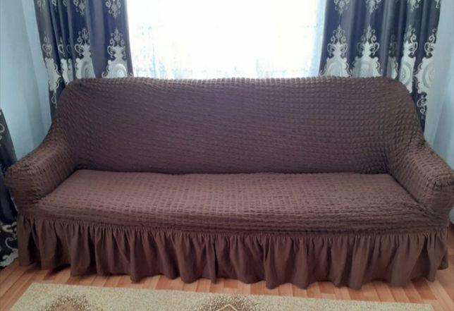 продается диван вместе с чехлом