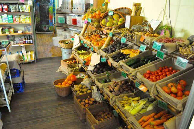 Овощной по улице Сауран