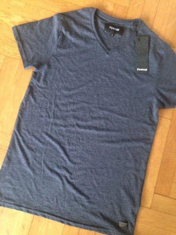 Синя тениска Firetrap S