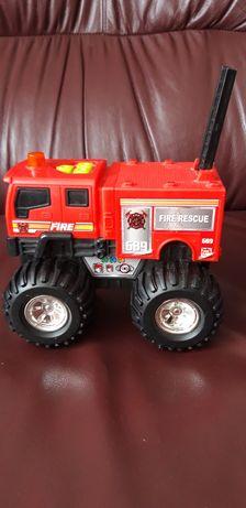 Mașinuță de pompieri cu sunete si lumini (sirena pompieri)