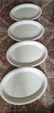 4 tavi mari plastic ovale