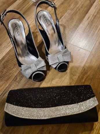Официални обувки с чанта