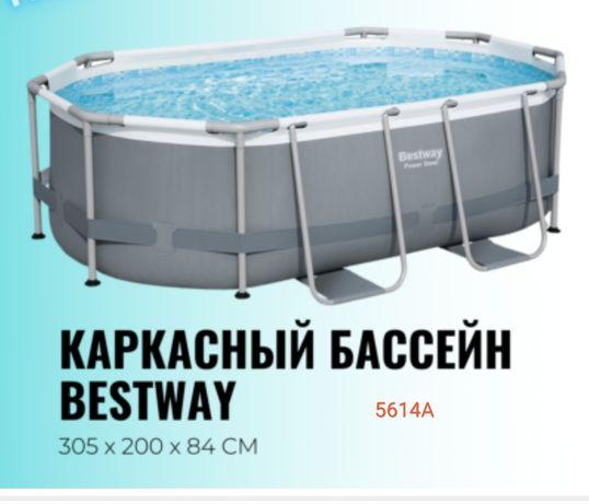 Каркасный бассейн 305×200×84