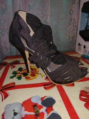 Sandale catifea, mărimea 38