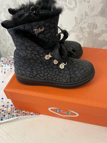Ботинки Тифлани осень!