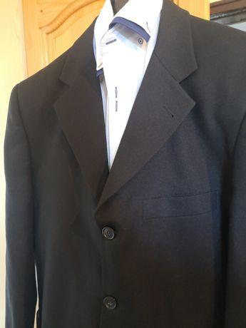 Мъжки черен костюм