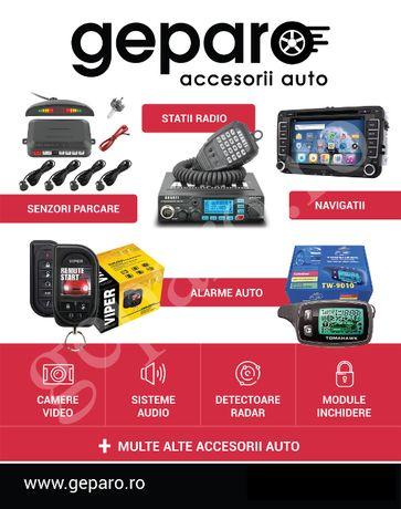 Montaj senzori parcare, alarme auto smart, module inchidere, navi