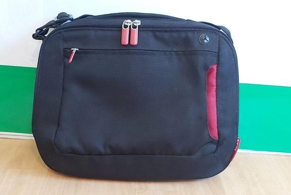 Удобна стилна чанта за лаптоп на марката Белкин, само 42лв!
