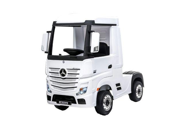 Camion electric Kinderauto Mercedes ACTROS 4x4 PREMIUM 4x45W #Alb