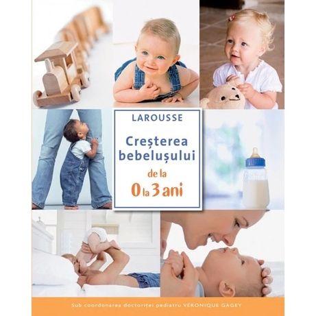 Cresterea bebelusului de la 0 la 3 ani - Larousse | Mama si copilul