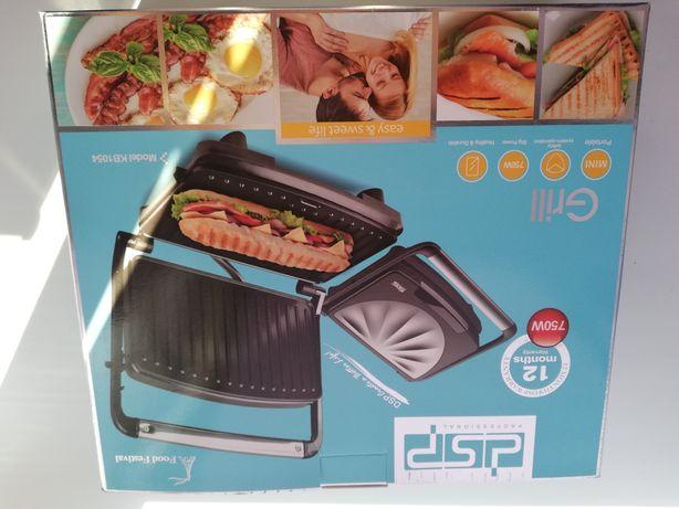 ЭЛЕКТРОГРИЛЬ новый  для кухни в коробке