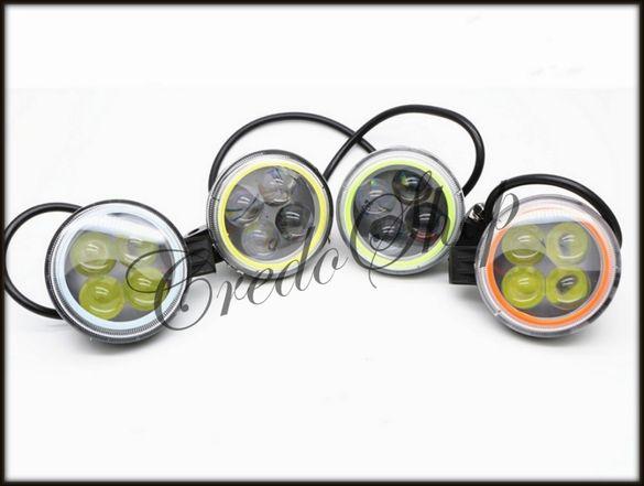 Халогени прожектори 4D 12W cree 12V(IP67-68прахо/водоустойчиви)