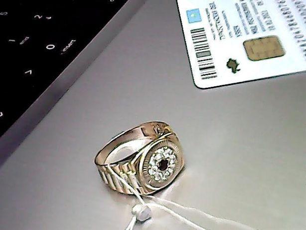 0% Печатка мужской, золото 585 (14K), вес 3.70 г. «Ломбард Белый»