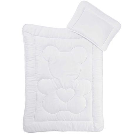 НОВ! Бебешки спален комплект 2 части - олекотена завивка - възглавница