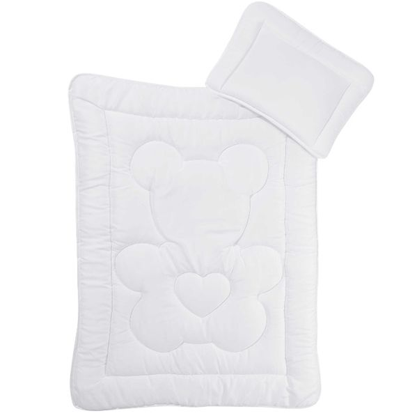 НОВ! Бебешки спален комплект 2 части - олекотена завивка - възглавница гр. Русе - image 1