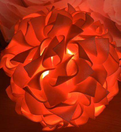 Светильник Гортензия в единственном экземпляре