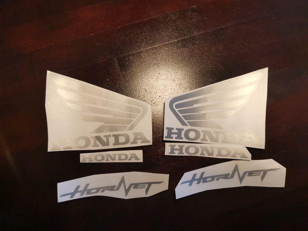 Kit stickere /autocolant dimensiune originala Honda pc41 Hornet 2008