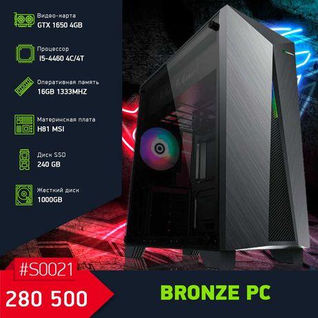 Доступный Игровой Компьютер на i5-4460/GTX1650 4GB/16GB