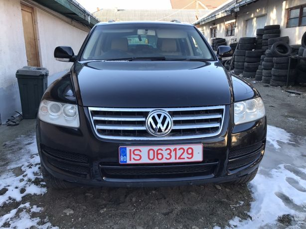 Fata / Bot Complet VW Touareg 2003 - 2007 , Culoare Neagra