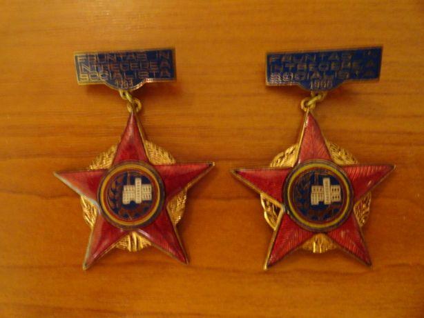 Medaliicomuniste Fruntas in intrecerea socialista 1963,1966