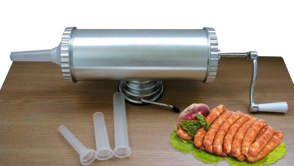 Carnatar Masina Aparat Manual Umplut Facut Carnati 2,5 kg Nou Bucuresti - imagine 1