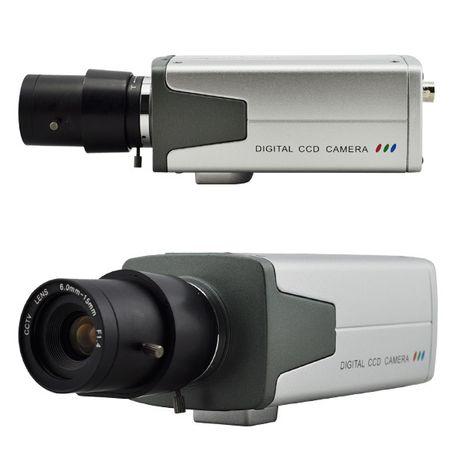 Охранителни камери и компютър (ситема за видеонаблюдение)
