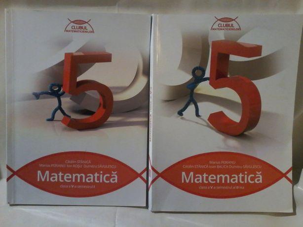 Marius Perianu, C.Stanica-Matematica cl.a v a, semestrele I si II