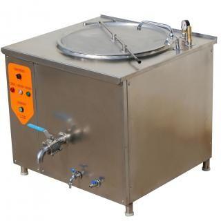 1.Електронагревателния съд малък модел 60 литр. и 150литр. е предназн