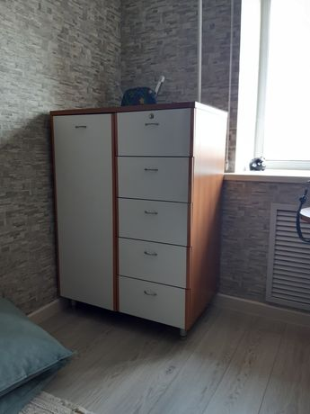Шкаф б/у, состояние нормальное, дверь и задвижки целые