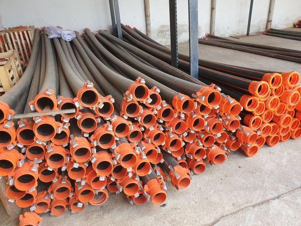 Teava plastic (PE100) Irigatii PN6 - 6m - Φ90 - 6MT90D/dzgl
