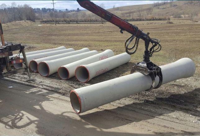 Vând Tuburi din beton armat Premo SENTAB