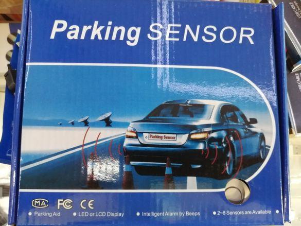 Нов модел прецизен Парктроник с 4 датчика/сензора, дисплей и звукова с