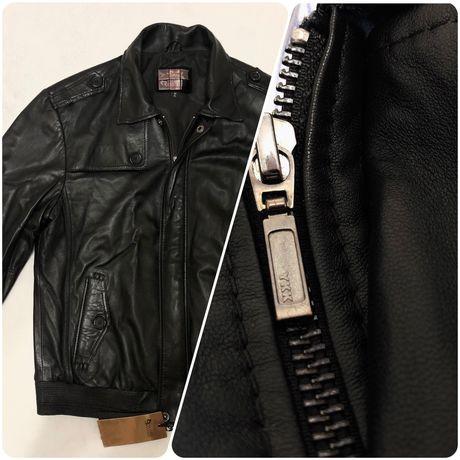 Мужская кожаная куртка Rossini (новая)